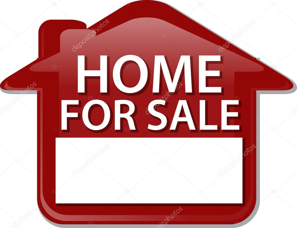 Clipart: for sale sign.