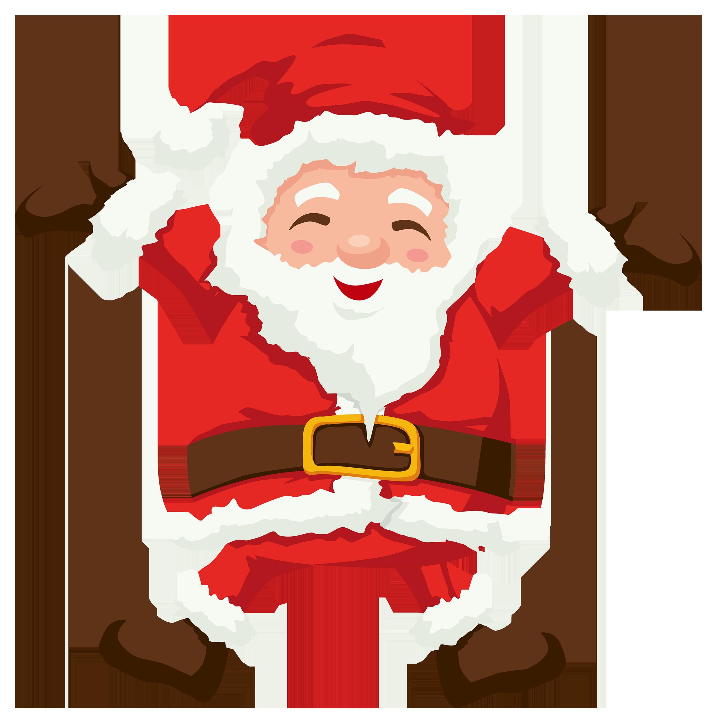 Santa PNG Clipart.