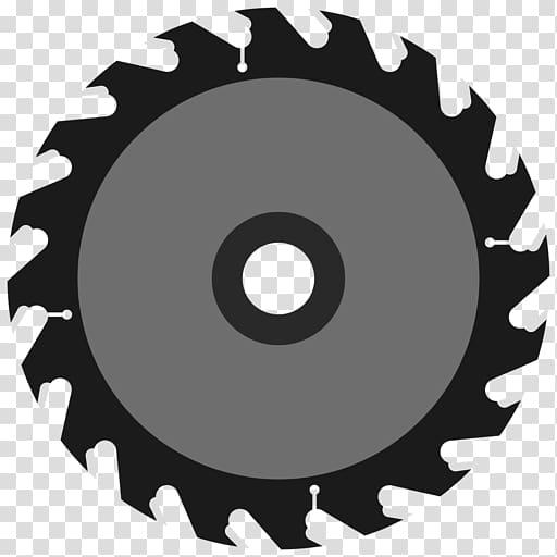 Circular saw Blade Cutting Chainsaw, chainsaw transparent background.