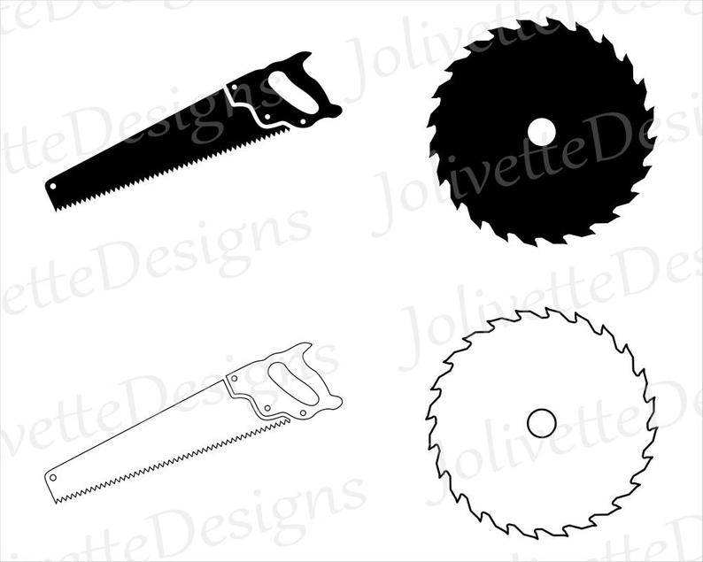 Saw Blade, Saws, Blades, Tools, Clip Art, Clipart, Design, Svg Files, Png  Files, Eps, Dxf, Pdf Files, Silhouette, Cricut, Cut File.