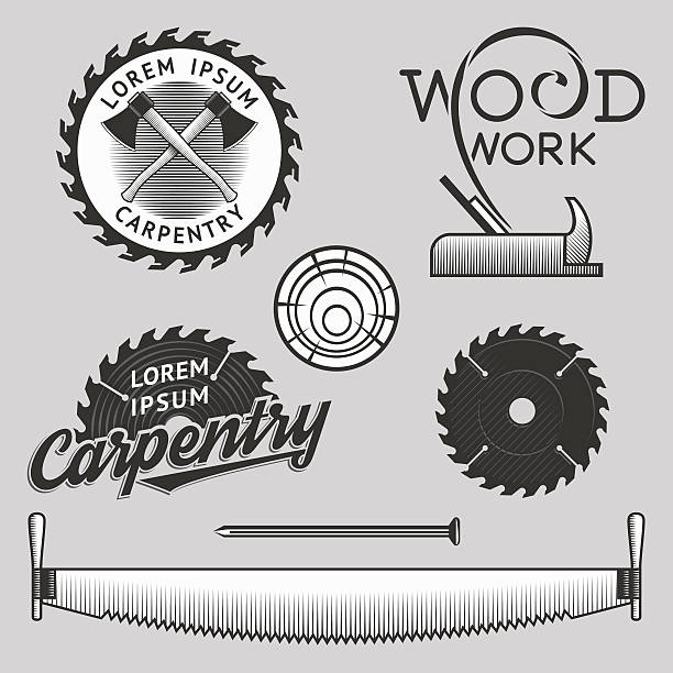 Best Saw Blade Illustrations, Royalty.