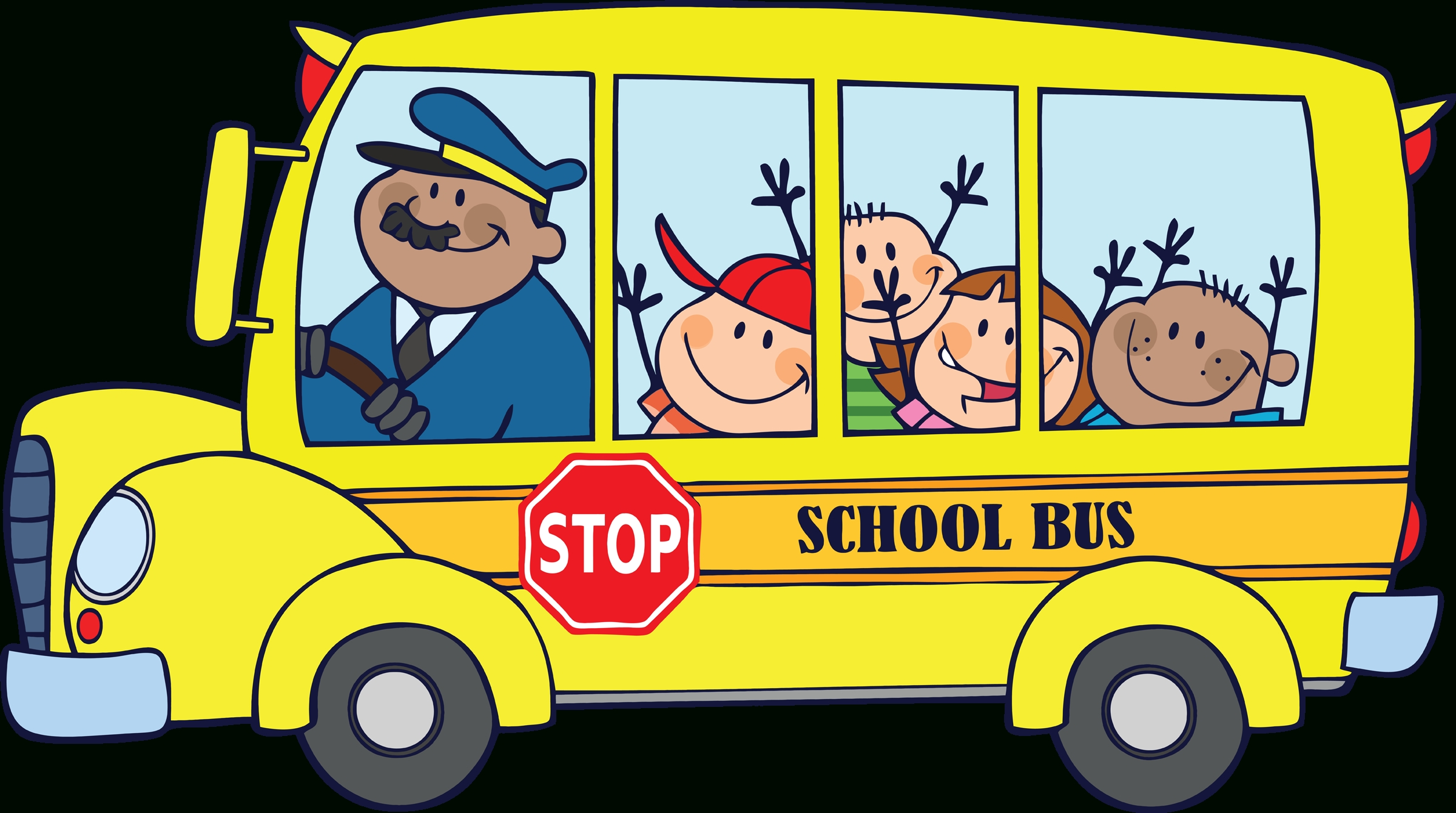 School Bus Clipart Transparent.