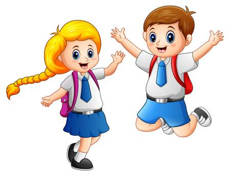 16,303 School Uniform Stock Illustrations, Cliparts And Royalty Free.
