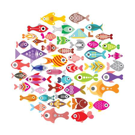 6,459 School Of Fish Cliparts, Stock Vector And Royalty Free School.