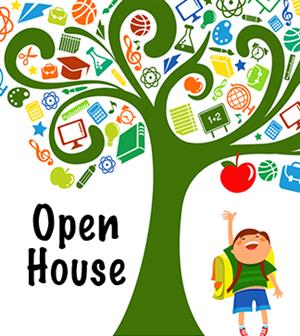 Open House Dates Set of 2019.