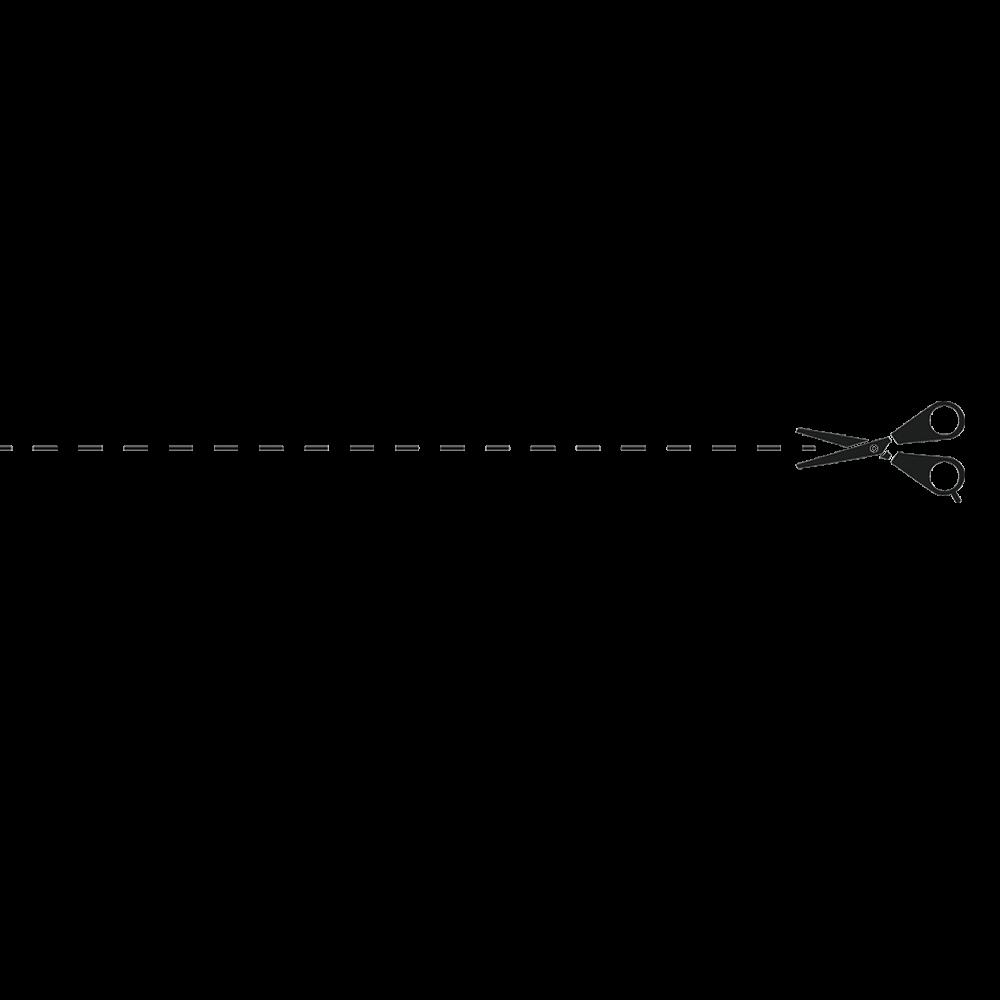 Scissors Dotted Line, Line Clipart, Cartoon, Hand PNG Transparent.