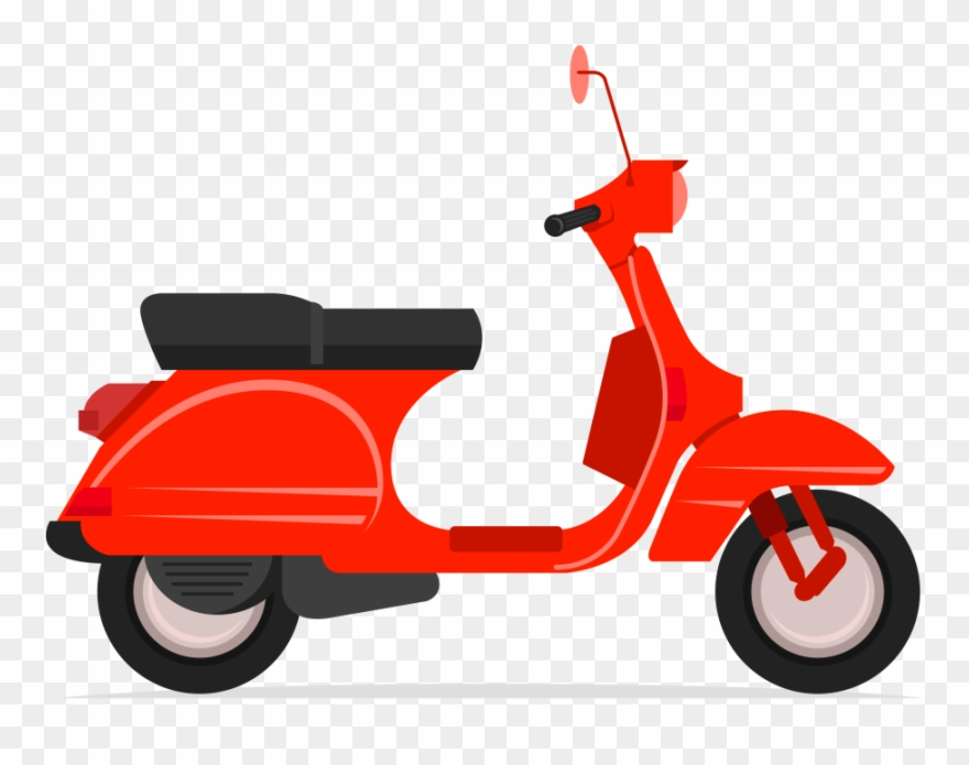 Scooters Clip Art.