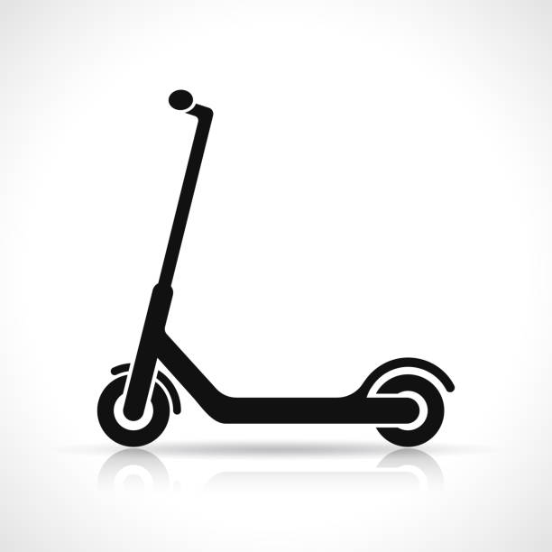 Best Scooter Illustrations, Royalty.