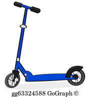 Scooter Clip Art.