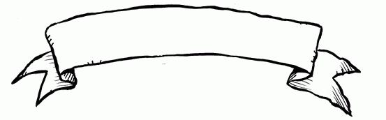Scroll Banner Clip Art.