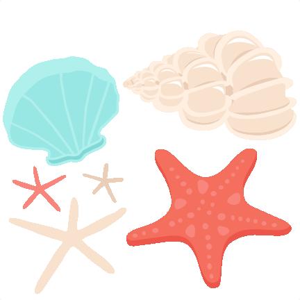 Free Seashell Clipart.