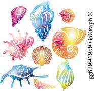 Seashell Clip Art.