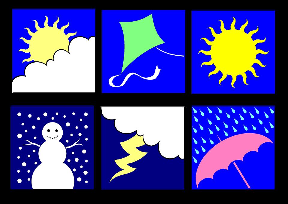 Clip Art Weather Seasons.