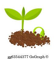 Plant Seeds Clip Art.