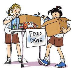Food Serving Others Clipart #1.