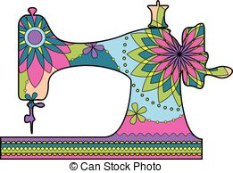 Sewing machine Clip Art and Stock Illustrations. 7,161 Sewing.