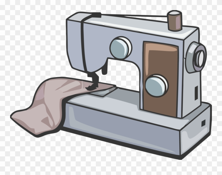 Singer Sewing Machines Clipart.