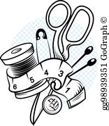 Sewing Clip Art.