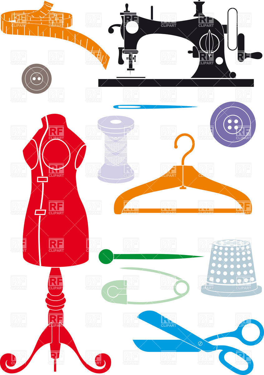 Sewing accessories.