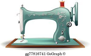 Sewing Machine Clip Art.