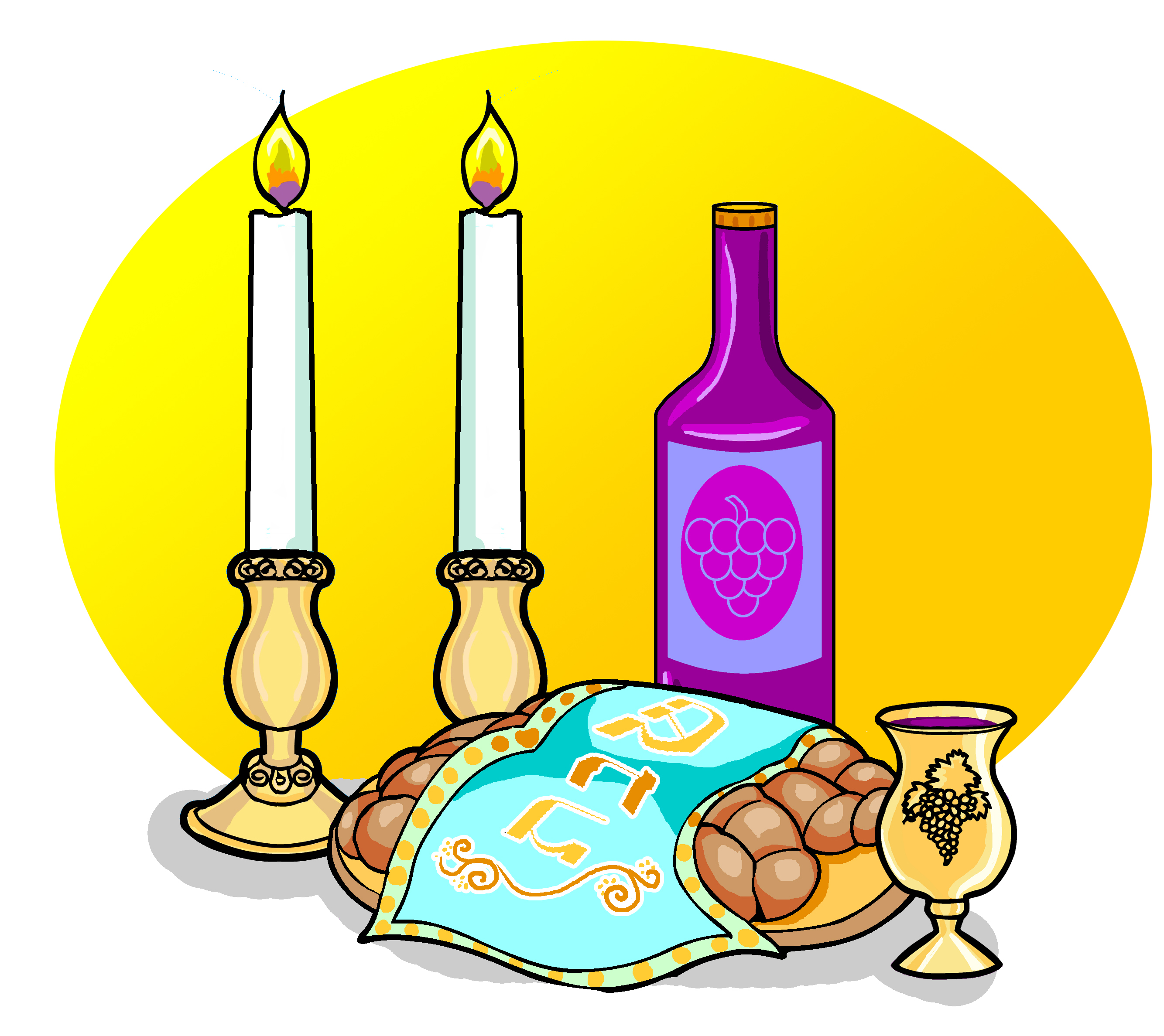 Free Shabbat Cliparts, Download Free Clip Art, Free Clip Art on.