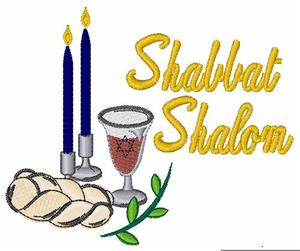 Shabbat Shalom Clipart.