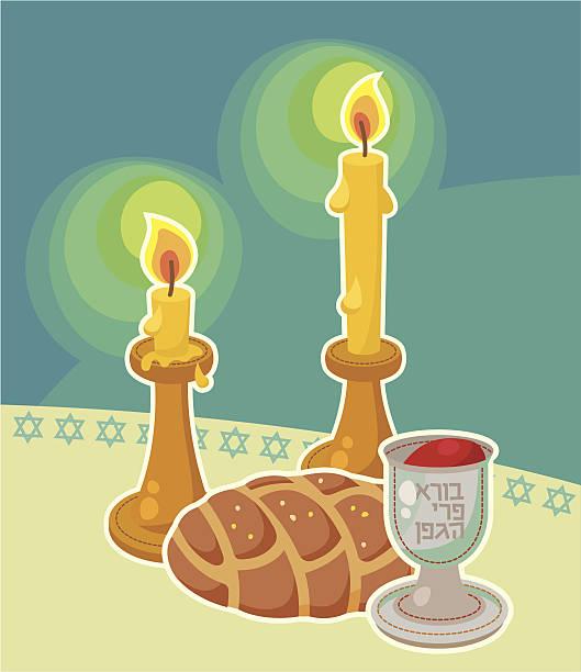 Best Shabbat Illustrations, Royalty.