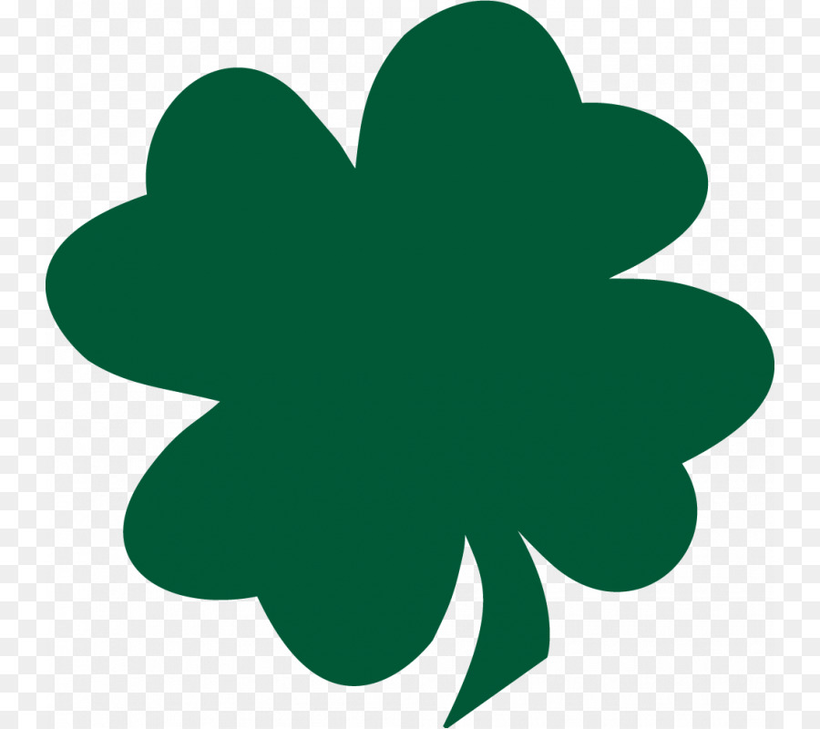 Shamrock Saint Patricks Day Four Leaf Clover Free Content Clip Art.
