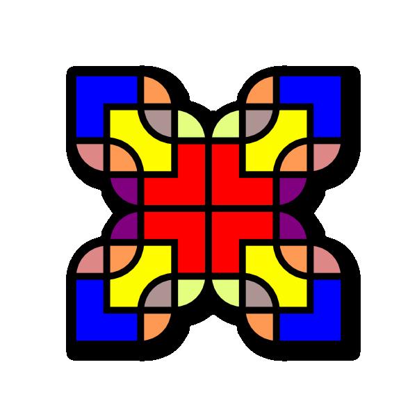 Shapes Pattern Design Clip Art at Clker.com.