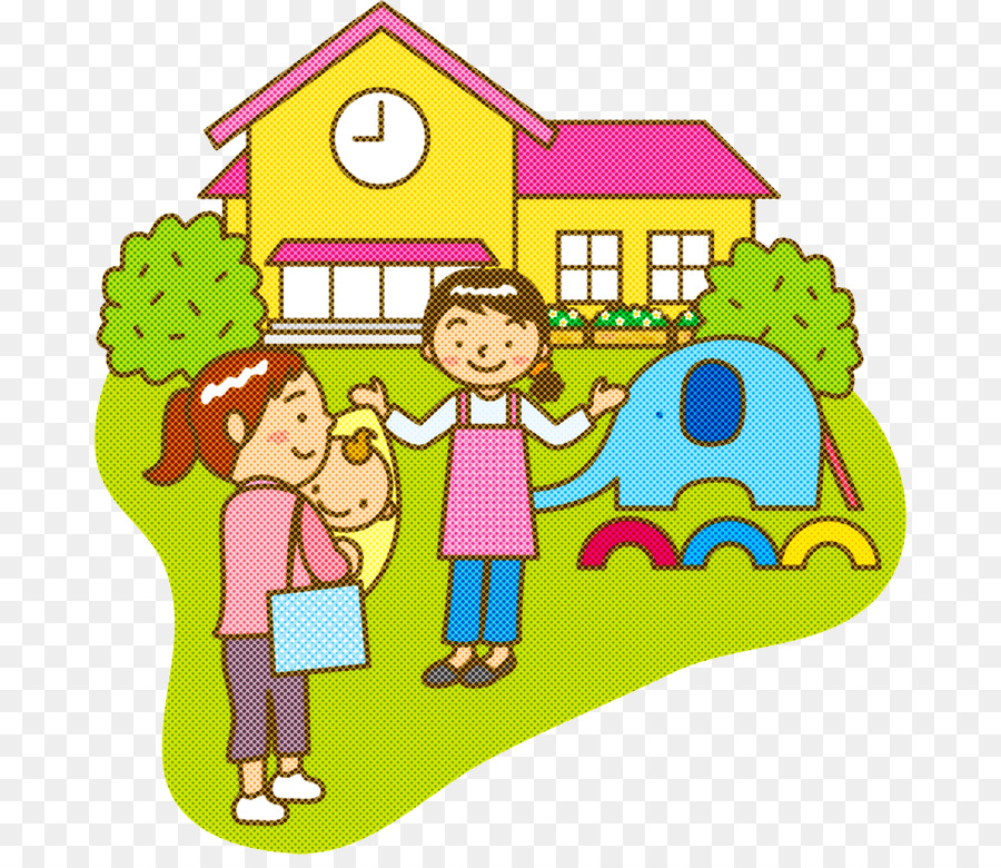 clip art sharing play child house png download.