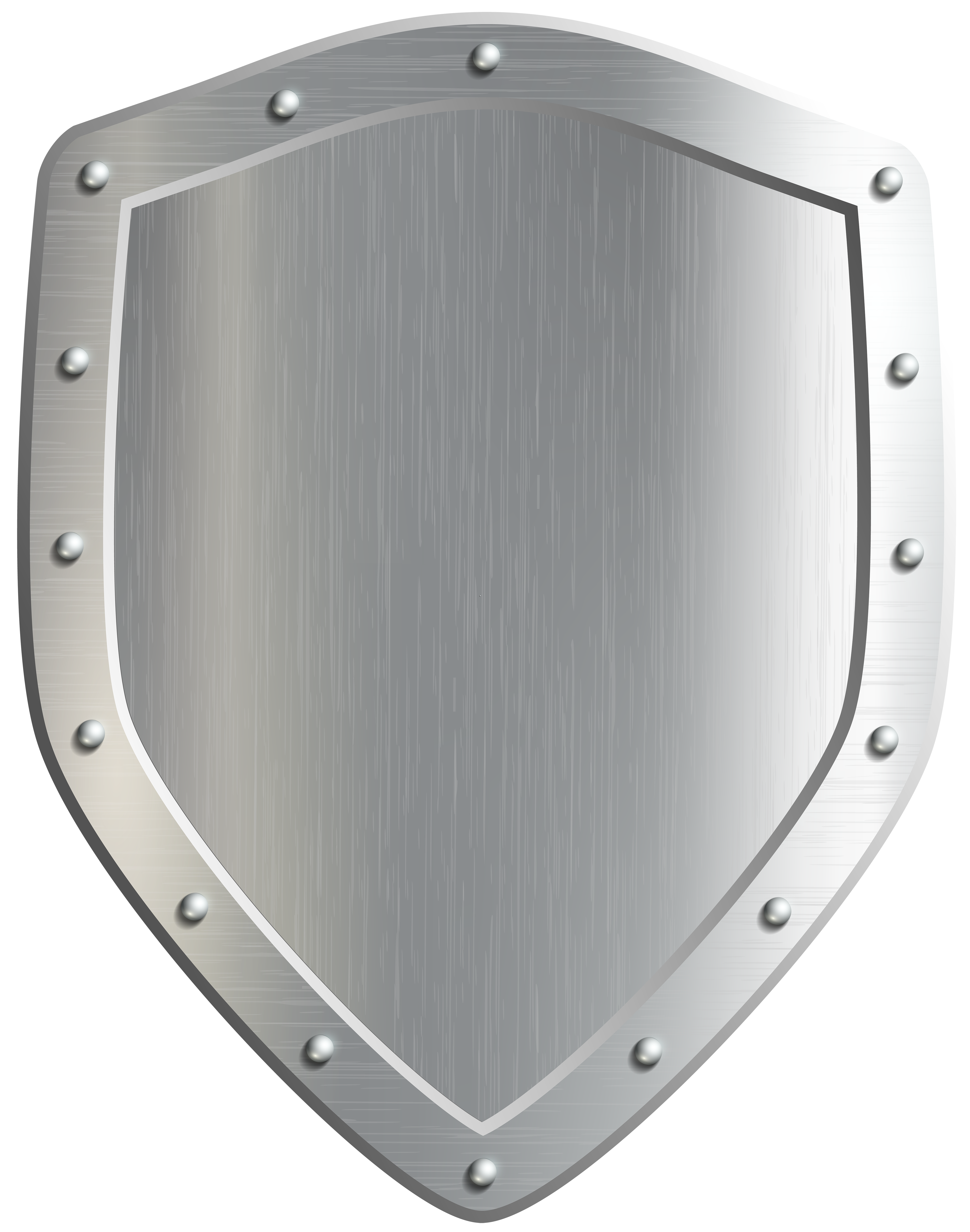 Shield Badge PNG Clip Art Image.