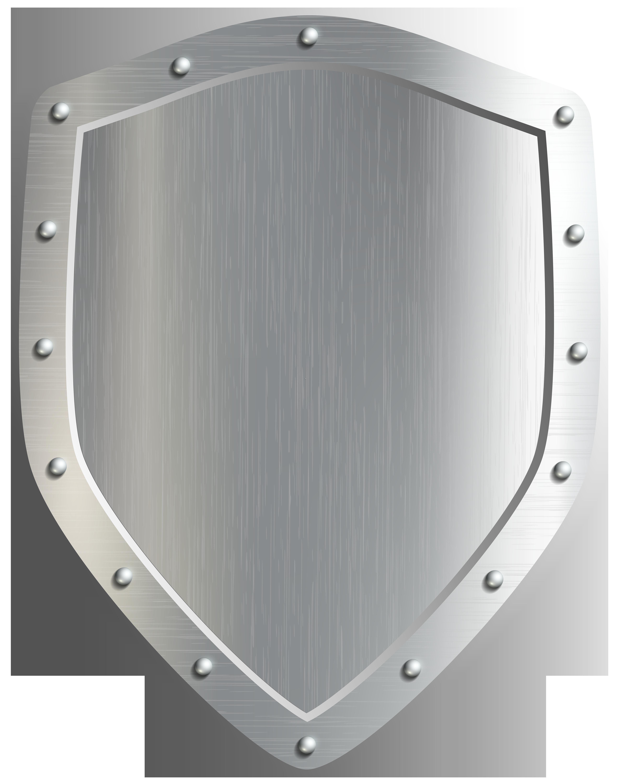Shield Badge PNG Clip Art Image.