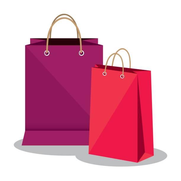 Best Shopping Bag Illustrations, Royalty.