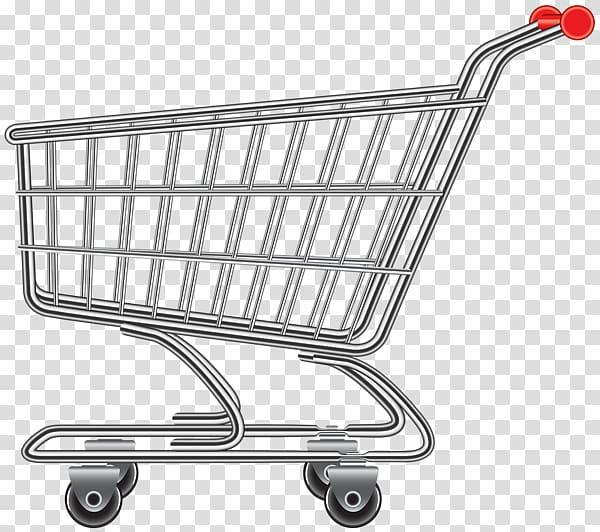 Shopping cart Mystery shopping, shopping cart transparent background.