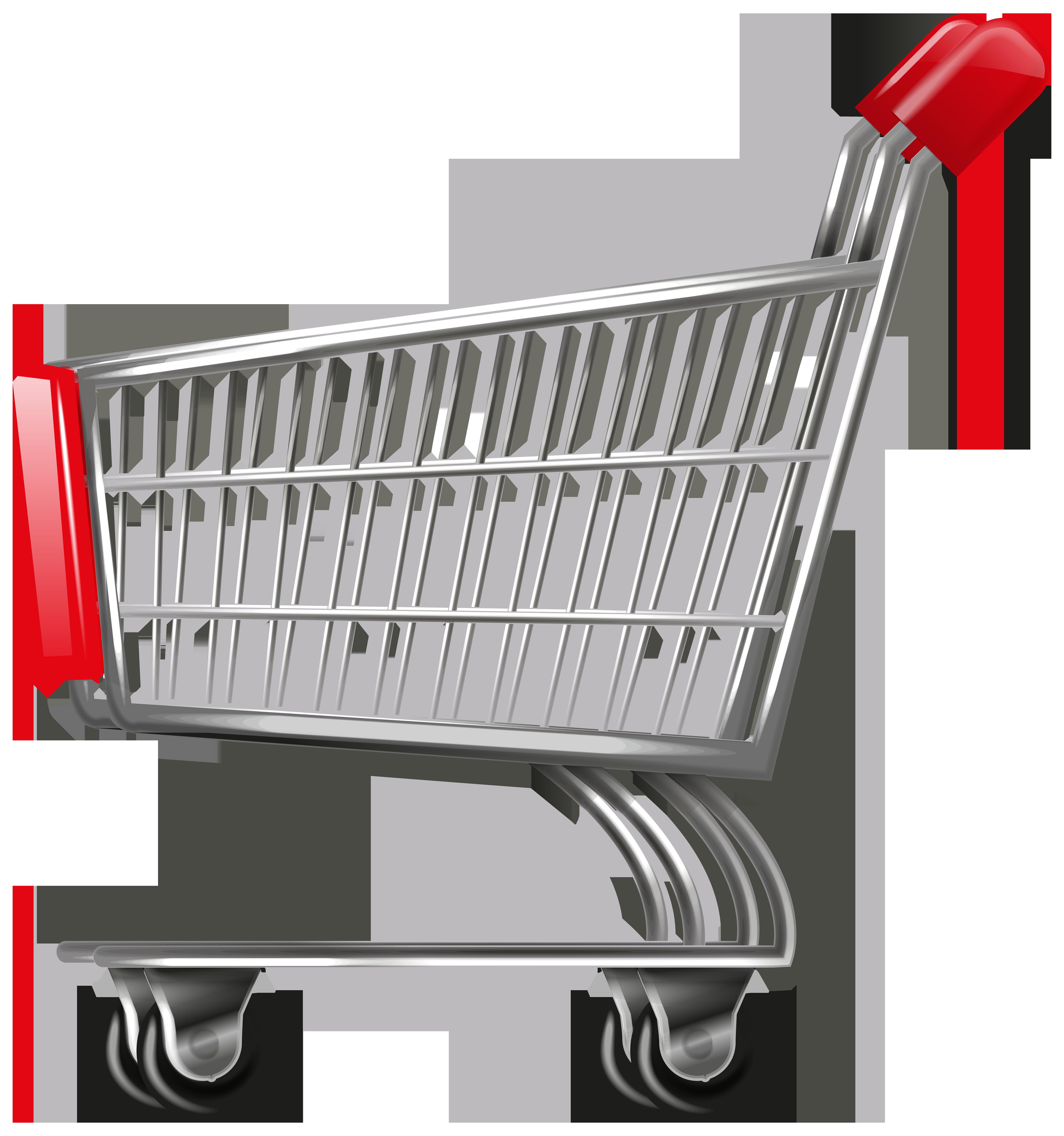 Shopping Cart Transparent PNG Image.