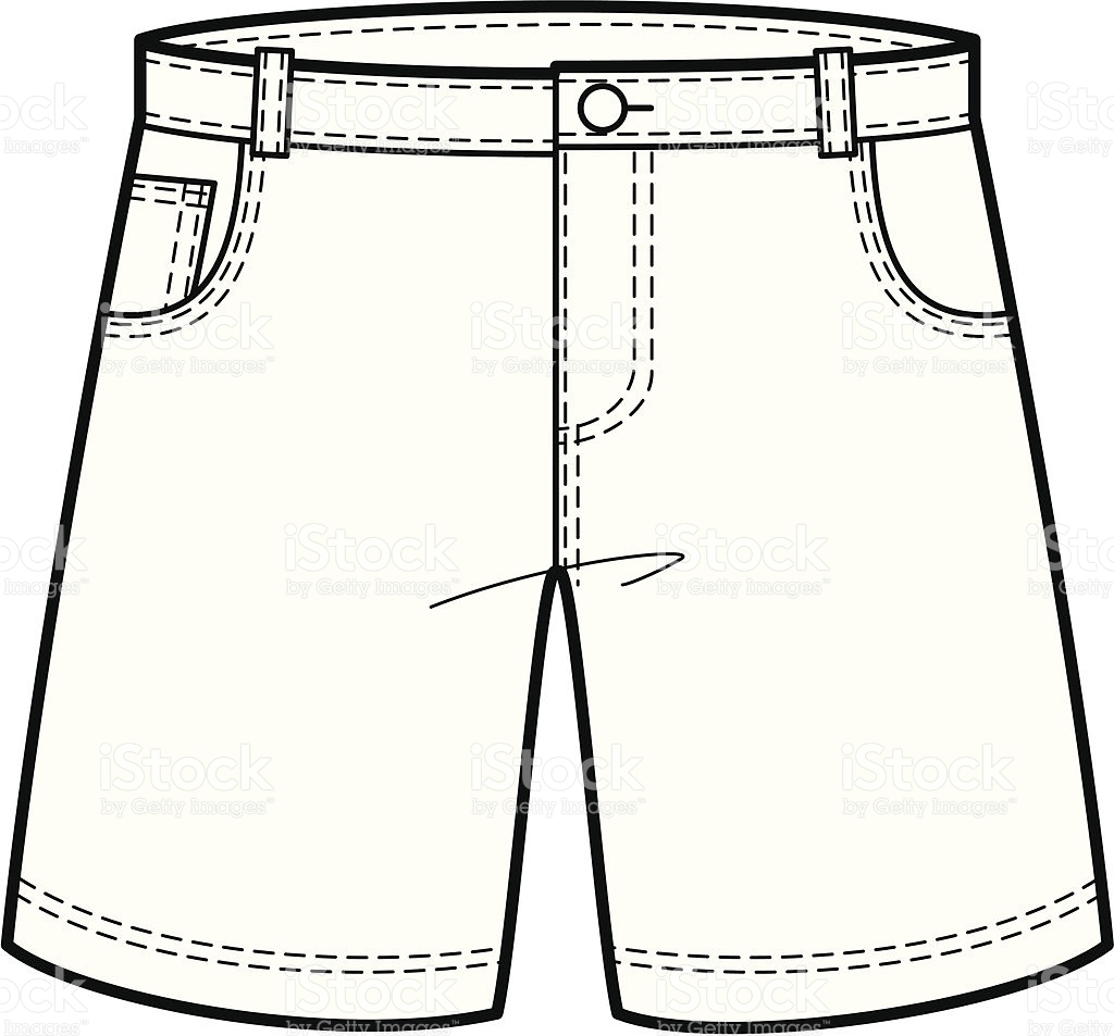 Shorts clipart black and white 9 » Clipart Station.