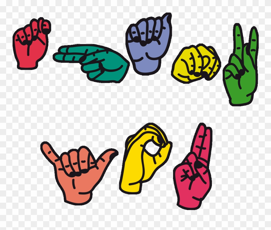 American Sign Language Thank.