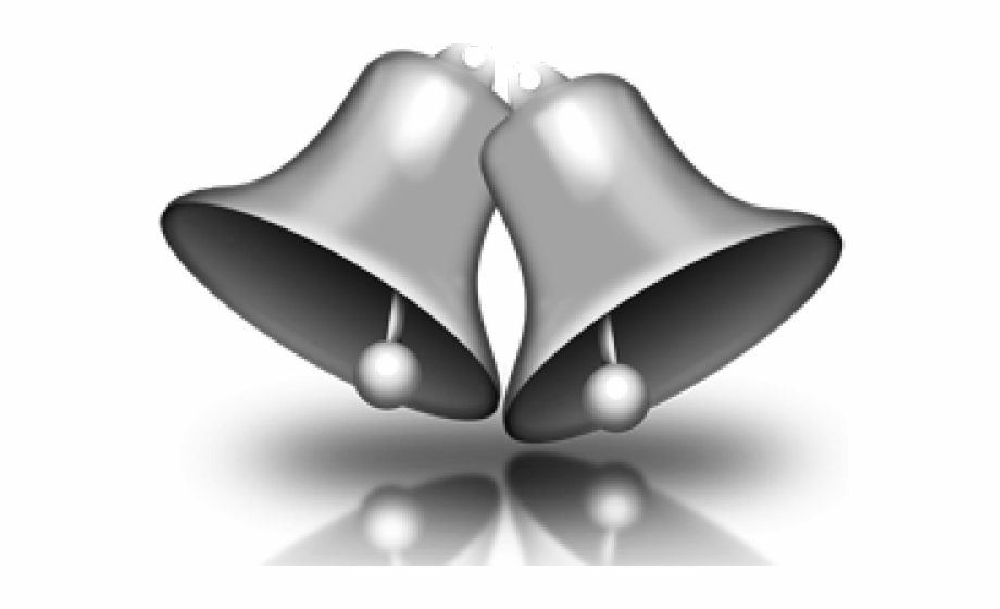 Clip Art Silver Bells, Transparent Png Download For Free #1472332.