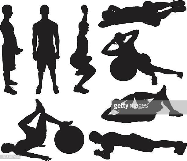60 Top Sit Ups Stock Illustrations, Clip art, Cartoons, & Icons.