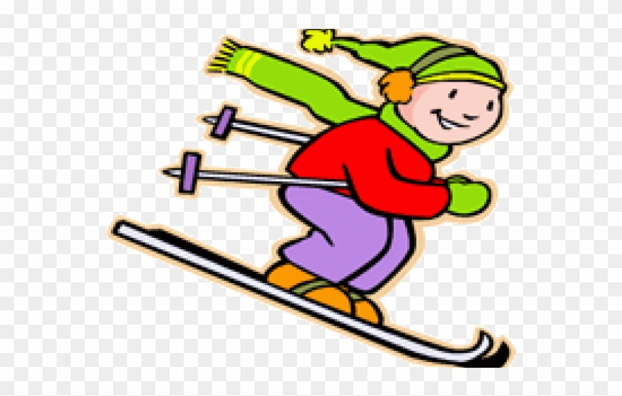 Skiing Clipart Trip.