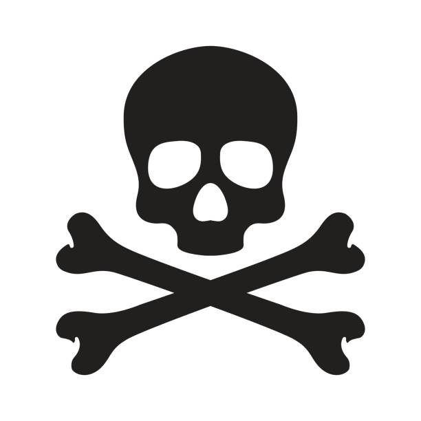 Best Skull And Crossbones Illustrations, Royalty.