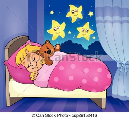 Sleeping child theme image 2.
