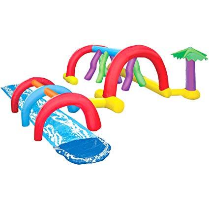 Amazon.com: Inflatable Adventure Water Park. This Slip N Slide.