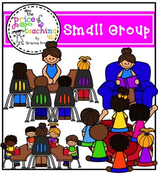 Small Group Clipart Set (The Price of Teaching Clipart Set).