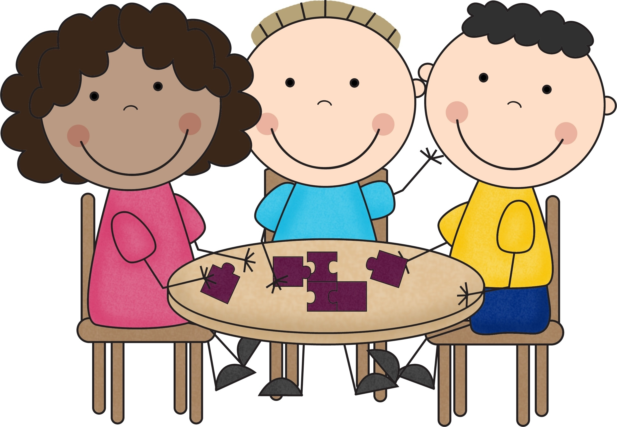 Small Group Clipart.