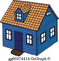Small House Clip Art.