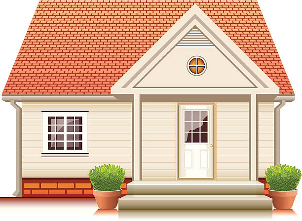 Best Small House Illustrations, Royalty.