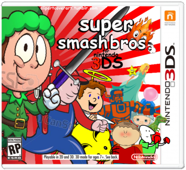 Super smash bros for 3ds.