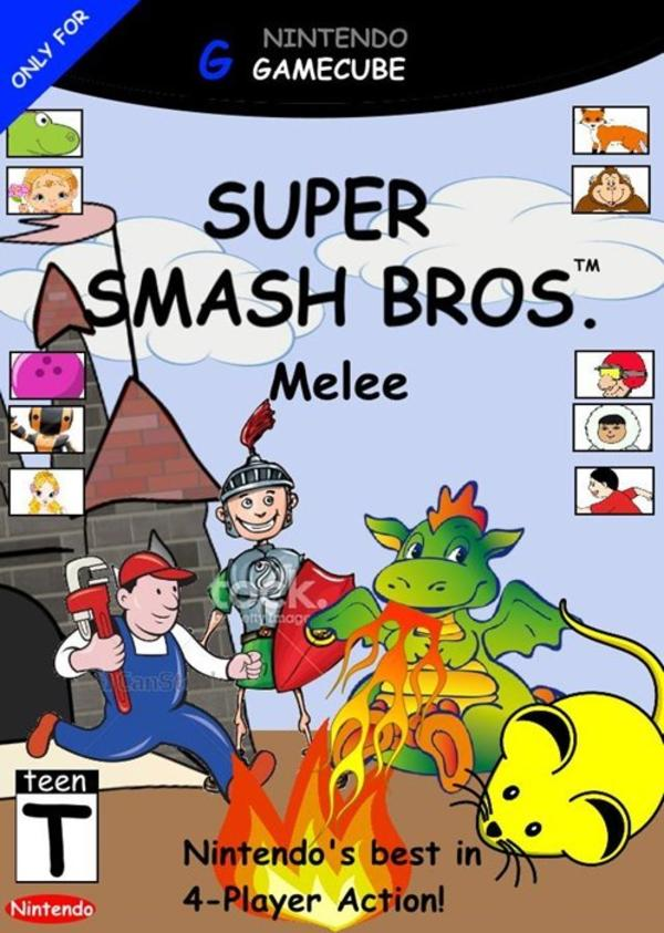 Super Smash Bros Melee.