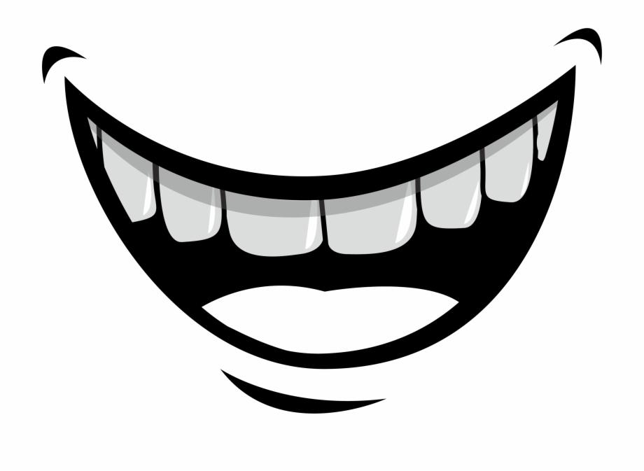 Smiling Teeth Png.